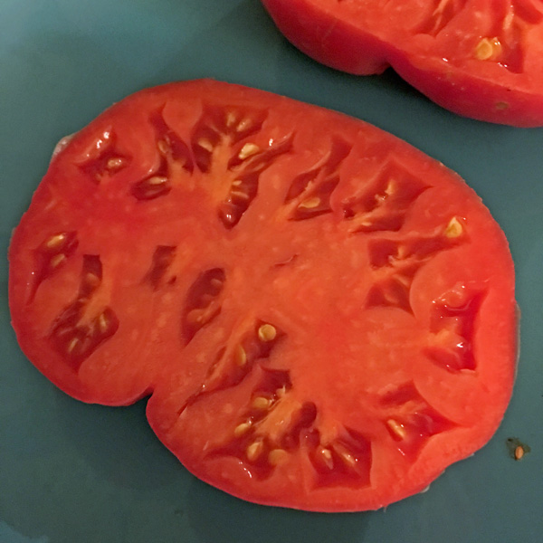 Mexico heirloom tomato